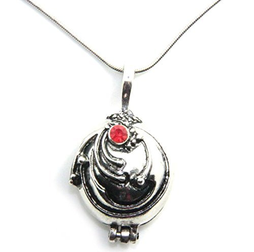 Generic Elenas Vervain Pendant Anti Vampire Plated Necklace  Silver