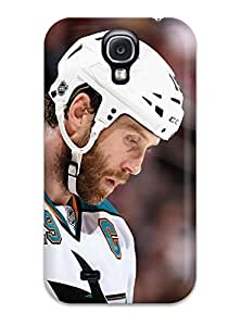 UuBbcvb12068CvyNF DanRobertse Awesome Case Cover Compatible With Galaxy S4 - San Jose Sharks Hockey Nhl (8)