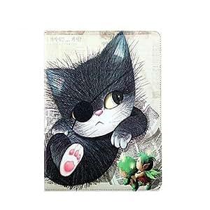 compra Caso de cuero del gato del pirata de la PU para el iPad 5