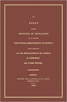 An essay on the principle of population