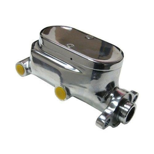 8 Single Diaphragm Universal Chrome Brake Booster and GM Chrome Aluminum Brake Master Cylinder