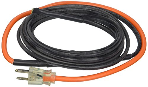 Water Pipe Cable Heating (M-D Building Products 4341 12-Foot Pipe Heating Cable with Thermostat)