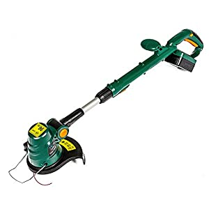 """MLG Tools ET1409 18V Lithium Ion Corded String Trimmer, 10"""" Cordless Grass Trimmer with Battery and Charger"""