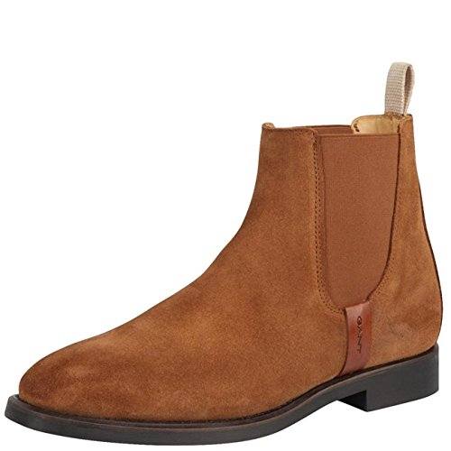 Jennifer Suede Boot Cognac Woman Gant qUEgFxE