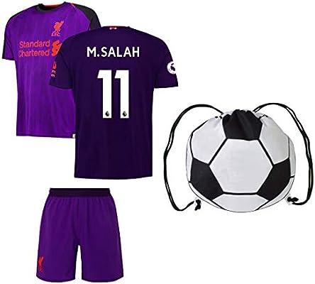 hot sale online 9a242 b5424 Rhinox Liverpool Salah #11 Youth Soccer Jersey Home/Away ...