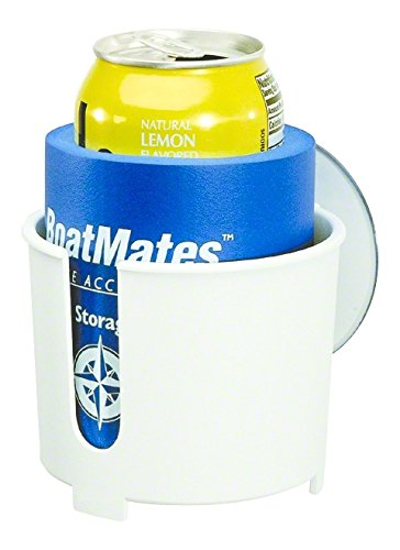 BoatMates Nautical Storage Solutions Drink Holder, white only