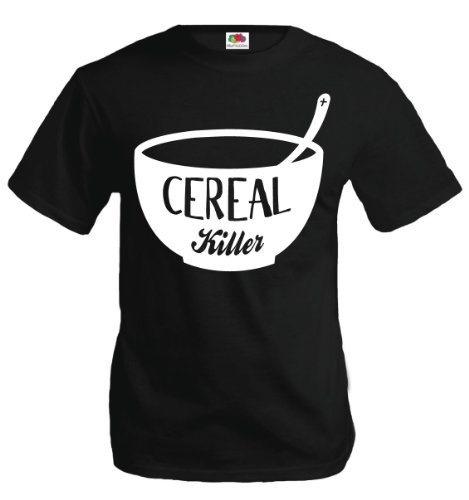 buXsbaum T-Shirt Cereal Killer Bowl
