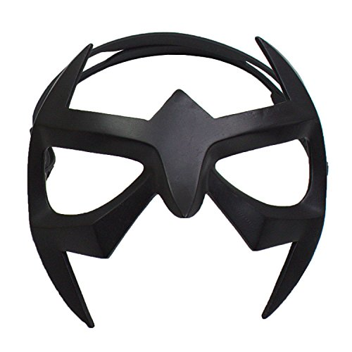 [XCOSER Nightwing Eye Mask Patch Prop Accessories for Masquerade Superhero Cosplay] (Nightwing Halloween Costumes)