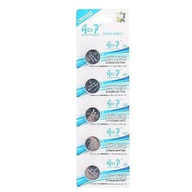 Price comparison product image CR1632 3V Super Lithium Button Cell Batteries (5 PCS) convinent