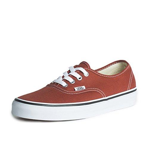 Vans U AUTHENTIC  BURNT HENNA/TRU - Zapatillas de lona unisex Rojo