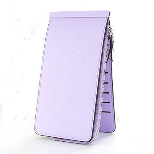 wallet for women multi card organizer with phone pocket - Diro Lady