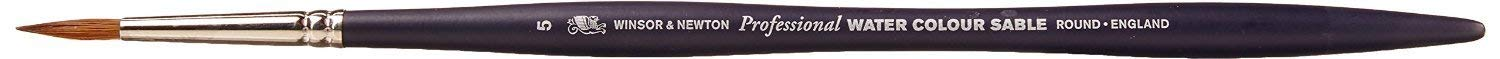 Winsor /& Newton Professional Watercolor Sable Brush-Round #1 1