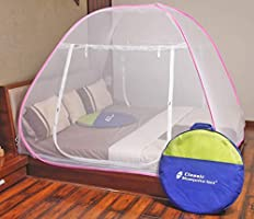 Classic Mosquito Net Foldable King Size Double Bed With Sa