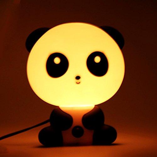 TRENDINAO Lovely Cute Bedroom LED Rabbit Bear Kungfu Panda Night Light Bunny Cartoon Animal Desk Table Lamp Gift - for Kids, Baby, Valentines Christmas Gift (Kungfu Panda) by TRENDINAO