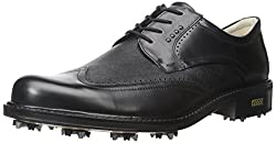 ECCO Men's New World Class Golf Shoe, Cocoa Brown/Cocoa Brown, 44 EU/10-10.5 M US