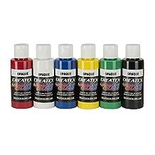 Createx Colors 2-Ounce AB Airbrush Set, Opaque