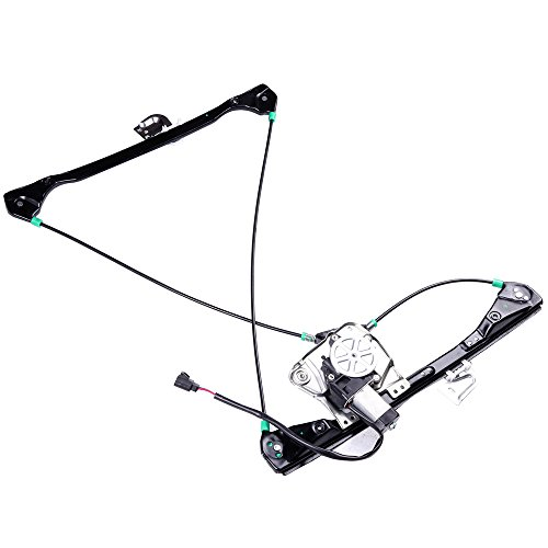 cciyu Front Right Passengers Side Power Window Lift Regulator With Motor Assembly Replacement Replacement fit for 1999-2005 Pontiac Grand Am 2 Door 1999-2004 Oldsmobile Alero 2 - Regulator Pontiac Front