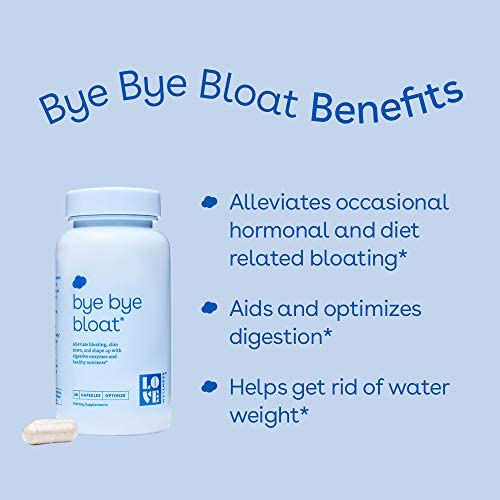 Love Wellness Bye, Bye, Bloat - Digestive Enzymes Supplement - 30 Day Supply - Bloating Relief - Gas Relief - Helps Reduce Water Retention - Helps Your Overall Digestive Health - Safe & Effective 3