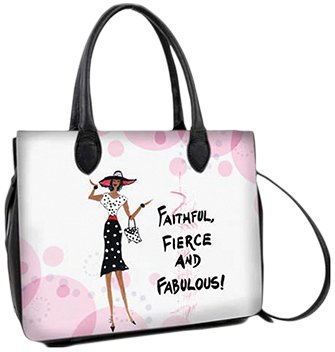 Shades of Color Faithful, Fierce and Fabulous Bible Bag (BB03)