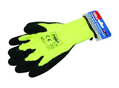 Hilka 75580009 Thermal Latex Work Gloves, Yellow by Hilka