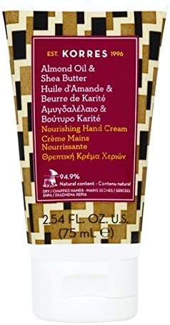 Korres Almond Oil and Shea Butter Hand Cream for Dry and