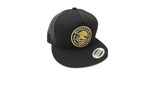 Gorra Federal MICHOACÁN. Los AGUACATEROS DE MICHOACÁN Black at Amazon Mens Clothing store: