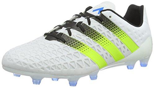 Ace Blue Ftwr FG 1 White de fútbol Hombre Botas AG 16 Blanco Shock para Semi Solar Adidas Slime dq1UATd