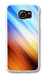 Abstract Gradient PC Case Cover for Samsung S6 and Samsung Galaxy S6 White