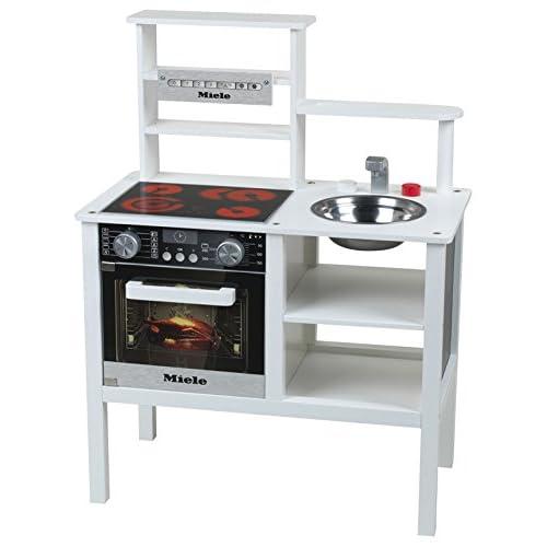 outlet Miele - Cocina mediana de juguete, de madera, color blanco ...