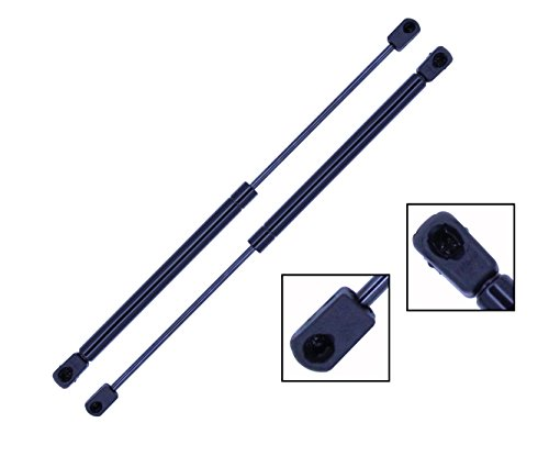 2 Pieces (SET) Tuff Support Trunk Lid Lift Supports 1998 To 2010 Chevrolet Corvette Coupe & Convertible Only (2007 Corvette Convertible)