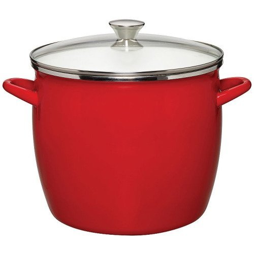 - Sabatier 8 Qt Enamel on Steel Stockpot