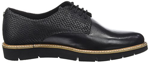 Puppies Mujer Derby Zapatos Hush Noir Noir Saule 4qIgqwBd