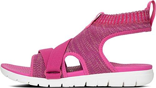 Sandals Dusky FitFlop Fuchsia Uberknit Strap Back Pink zfznSHq