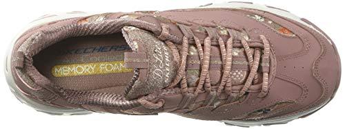 floral Mve Baskets Days D'lites Femme Skechers Rq5vFHwT