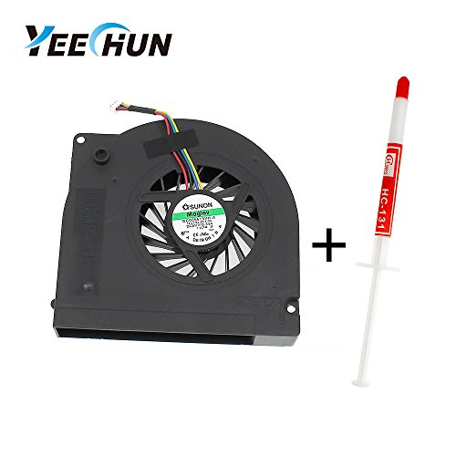 YEECHUN CPU Cooling Fan for Dell Studio 17 1735 1736 1737 Series Part Number: GB0506PGV1-A -