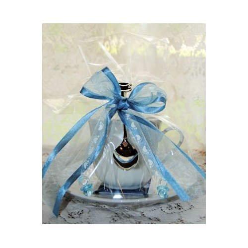 Amazoncom Set Of 4 Tea Theme Baby Boy Tea Cup Teacup Baby Shower