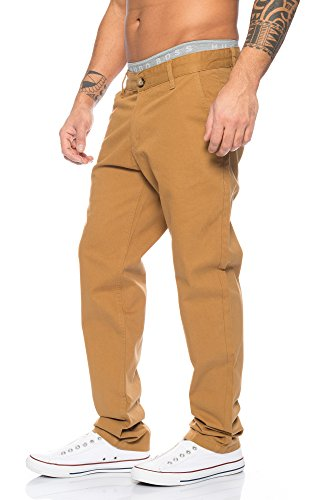 Chiaro Rc Chino Da Creek Marrone 2083 Uomo Pantaloni Rock 8SqXaa