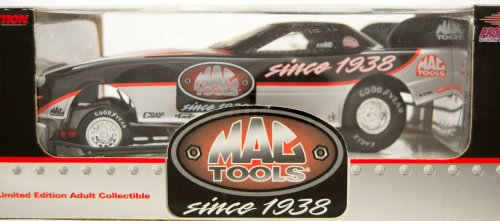 Action - NHRA - Mac Tools Racing - 1999 Mac Tools Funny Car - 1:24 Scale Die Cast - Limited Edition - Mint - (24 Action Nhra Funny Car)