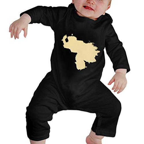 Dictator Costumes Girl - Long Sleeve Bodysuit, Map Gold No