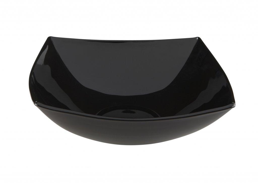 BHL Quadrato Fruit Bowl 24cm Black