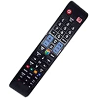 Replaced Remote Control Compatible for Samsung UN39EH5300F UN40ES6150FXZA UN46ES6150FXZA UN55ES6150F UN60ES6150FXZA LED LCD HDTV Smart TV
