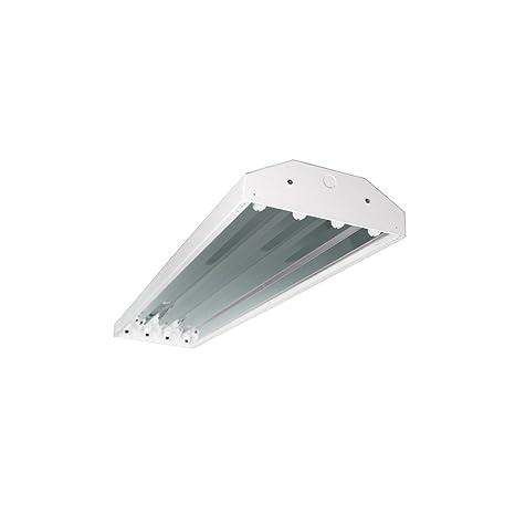 Four Bros Lighting HB-4/T5 4 Bay Lighting 4-Lamp Fluorescent Fixture ...