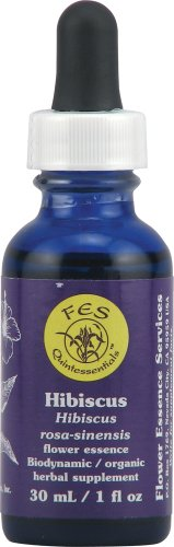 Flower Essence Services Hibiscus Dropper Herbal Supplements, 1 Ounce