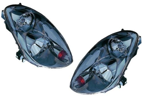 G35 Sedan Headlight (Infiniti G35 Sedan Replacement Headlight Assembly (Xenon Type) - 1-Pair)