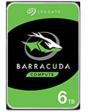 Seagate Barracuda Internal Hard Drive 6TB