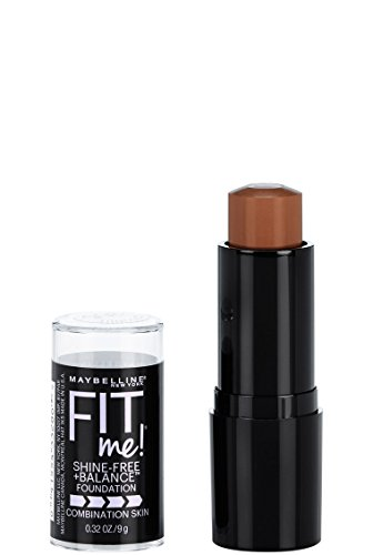 Maybelline New York Fit Me Shine-Free + Balance Stick Foundation, Coconut, 0.32 oz.