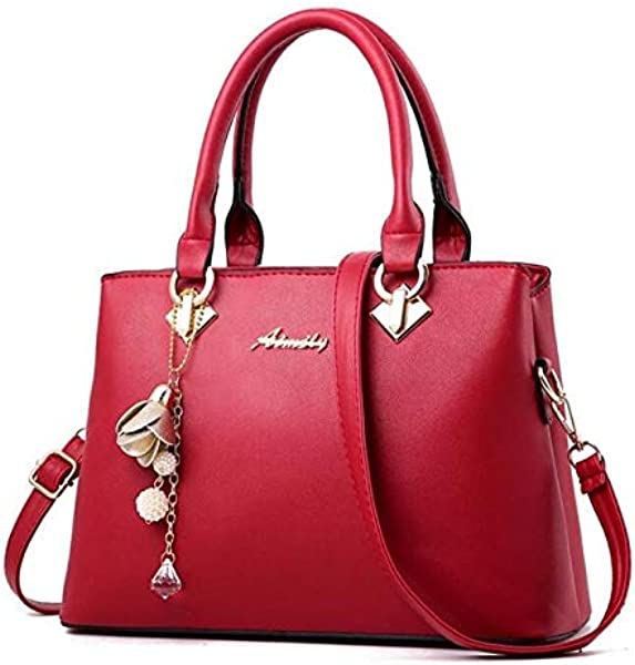 99aed3db7c FGJLLOGJGSO New fashion tote lady Large handbag for luxury handbags women  bags designer crossbody bags female leather bolsa Color Wine red  30CMX12CMX21CM