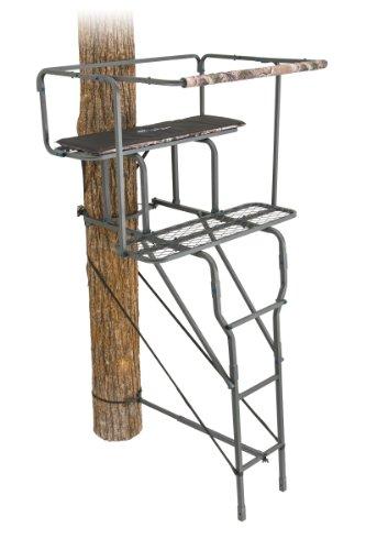 Ameristep 2-Man Ladder Stand, 15-Feet