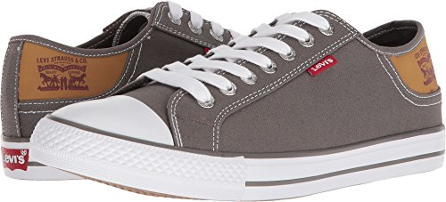 Levi's Men's Stan Buck Charcoal/Brown Levis Sneakers Shoes Sz: - Buck Sneaker