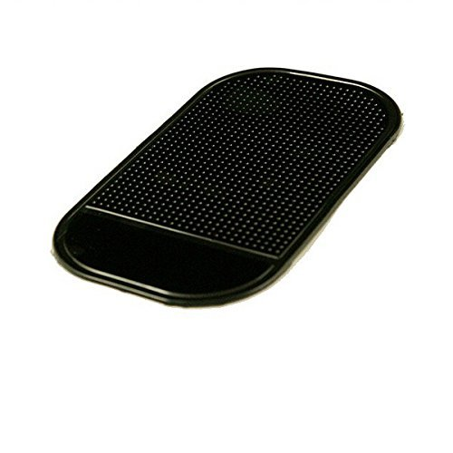 RADAR DETECTOR - DASHBOARD MAGIC MOUNTING PAD For Passport 9500ix, Escort, Valentine, Cobra, Beltronics, Whistler, No mounting bracket, No windshield mount (Black) (Whistler Radar Detector Mount)
